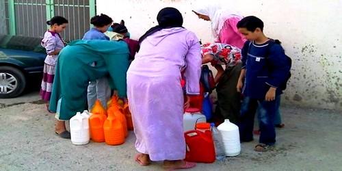 لليوم الثالث على التوالي.. 40 % من مناطق طنجة بدون ماء