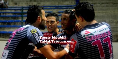المغرب التطواني يتجاوز فريق أ.خريبكة ويتأهل إلى الربع النهائي