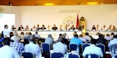 المصادقة على القانون الأساسي بالجمع الاستثنائي للجماعة الملكية المغربية لكرة القدم