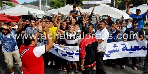 عودة الإحتجاج بميناء المضيق بعد تراجع السلطات المحلية عن التزاماتها