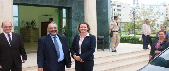 زيارة ود وصداقة لسفيرة كندا بالمغرب للجماعة الحضرية لتطوان