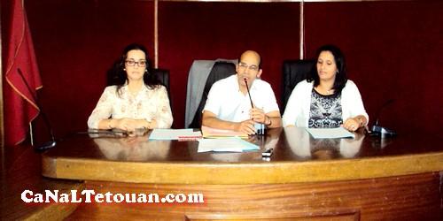 لقاء تواصلي مع مهنيي الاعلام والاتصال بجهة طنجة /تطوان بقاعة الجماعة الحضرية