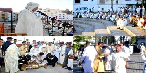 في جو روحاني …ساكنة تطوان تؤدّي صلاة عيد الأضحى المبارك
