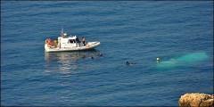 بحرية سبتة تنقذ 4 مهاجرين مغاربة