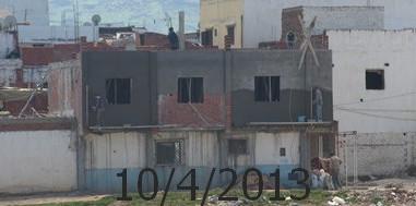 إستفحال البناء العشوائي بحي الديزة ولجنة من الداخلية في طريقها لمرتيل