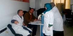 حملة للتبرع بالدم بتطوان من تنظيم جمعية الأعمال الاجتماعية لموظفي الجماعة الحضرية وجمعية الحمامة البيضاء للمتبرعين بالدم
