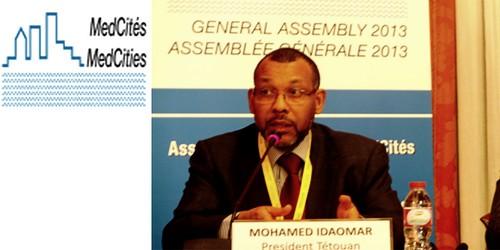 محمد إدعمار رئيسا للشبكة الدولية لعمداء ورؤساء المدن المتوسطية