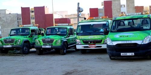 شركة جديدة بتطوان خاصة بنقل السيارات المخالفة تشرع في العمل داخل المدار الحضري