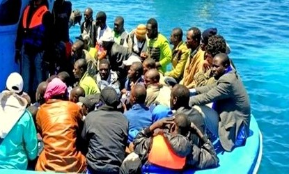 مقتل ستة أشخاص بعد غرق قارب على متنه 20 مرشحا للهجرة السرية الى اسبانيا