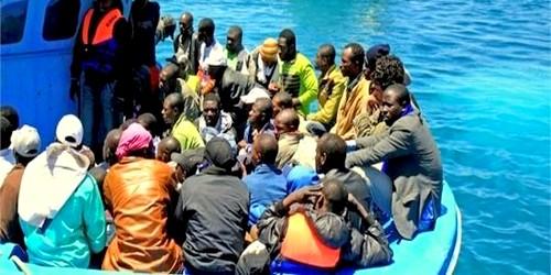 من جديد … إيقاف 88 مهاجرا غير شرعيا على ساحل طنجة – الفنيدق