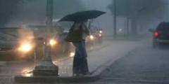 الأرصاد الجوية تحذر من الأمطار العاصفية ببعض مدن الشمال