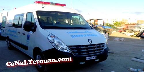 بعد معاناة طويلة … بلدية مرتيل تجلب سيارة إسعاف جديدة للمدينة