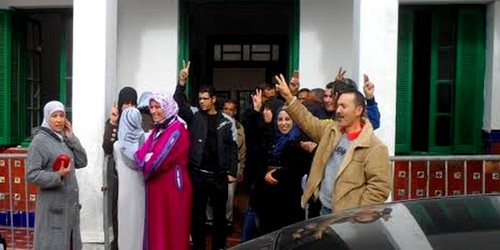 اعتصام عمال مطرودين بأصيلة يدخل شهره الرابع