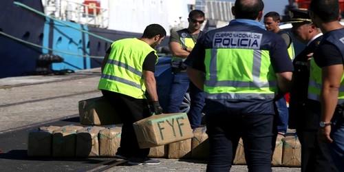 الأمن الإسباني يحجز طنين ونصف من الكوكايين بقيمة 15 مليون أورو