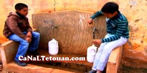 ساكنة حي غرابو بتطوان تعيش محنة حقيقية مع ندرة المياه !