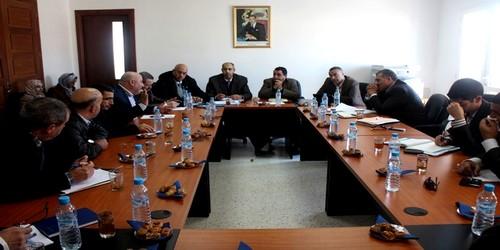 اجتماع اللجنة لمناقشة إكراهات النقل الحضري بتطوان والضواحي