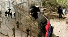 محاولة جديدة لاقتحام سبتة من طرف المهاجرين