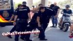 شرطة سبتة تلقي القبض على متهم بطعن لاعب مغربي