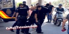 """شرطي إسباني """"يُمزّق"""" جواز سفر مواطنة مغربية بسبتة المحتلة"""