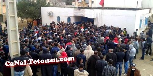 حالة وفاة بمستشفى وزان تدفع بالساكنة للخروج للإحتجاج