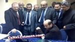 """بالصور: وزراء البجيدي يتابعون مبارة الرجاء على """"بيسي"""" وبن كيران يدعو لها بالفوز"""