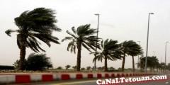 إنذار هــام .. رياح قوية وأمطار في تطوان وعدة مناطق من المملكة