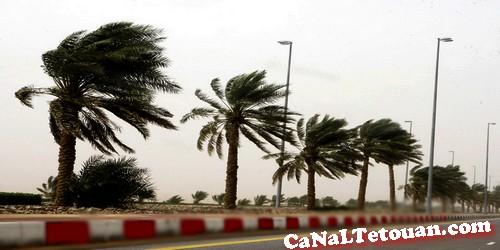 إنذارية جديدة تحذر من تساقطات عاصفية بمناطق في طنجة وتطوان