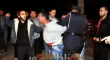 """عناصر الشرطة القضائية تعتقل المدعو """"الريفي"""" بعد مطاردة هوليودية بالفنيدق"""