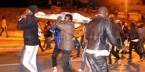 شرطة طنجة : جثة الإفريقي تم العثور عليها بالطريق العمومية