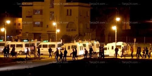 إستنفار أمني بطنجة لمواجهة احتجاج على مقتل كاميروني