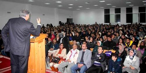 نبيل بنعبد الله من طنجة يدعوا الشباب للانخراط في العمل السياسي