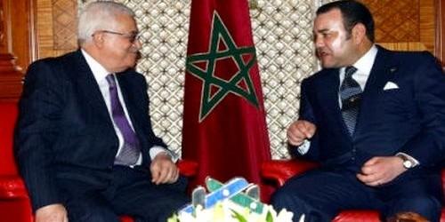 الملك محمد السادس يستقبل رئيس دولة فلسطين محمود عباس بالمغرب