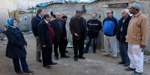 الجماعة الحضرية يتفقد أشغال ترميم وتهيئة سور المدينة العتيقة المحاذي للمقبرة الإسلامية