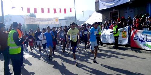 أزيد من 2000 مشارك في السباق الثالث على الطريق بحي جامع مزواق
