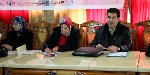 لقاءا تواصليا حول : قضايا النساء بمحاكم تطوان من تنظام جمعية رابطة نساء المغرب للتنمية والتكوين