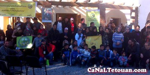 قافلة خيرية من تطوان الى مركز خميس أنجرة حققت نجاحا باهرا !