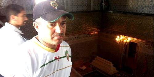 وفاة مصطفى ابن الفنيدق و مسير كرة القدم