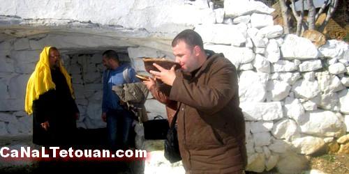 جمعية الترات و التنمية و المواطنة بتطوان تزور المعالم التاريخية ضواحي دوار لحصن