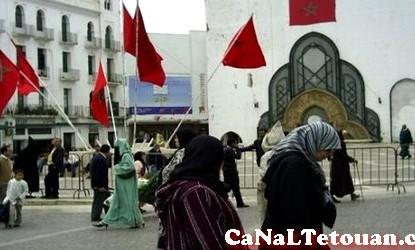 هذا ما يتسبب بازعاج النساء في شوارع تطوان !!!!