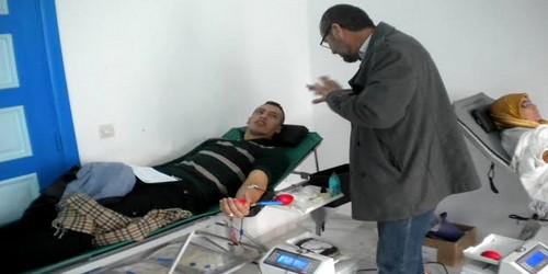 حملة للتبرع بالدم بالمضيق تنظيم جمعية ابتسامة المتبرعين بالدم تمودة بي