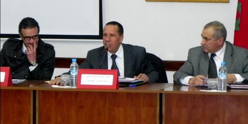 لقاء تواصلي بين عامل عمالة المضيق الفنيدق وأعضاء بلدية مرتيل