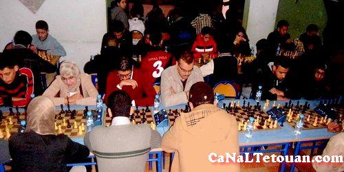 ساحة مرجان تطوان تحتضن المهرجان التاني للعبة الشطرنج