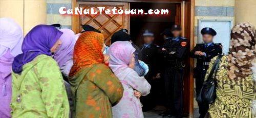 محكمة تطوان تصدر حكمها النهائي في حق التلاميذ المتهمين بالغش في امتحانات الباكالوريا !