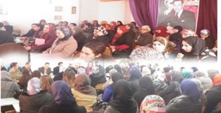 لقاء دراسي لتطوان لجمعية يحيى للأطفال التوحديين بمدرسة أبي الحسن الشاذلي