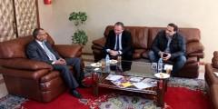 محمد ادعمار يجتمع مع المدير العام الجديد لمجموعة فيوليا بالمغرب