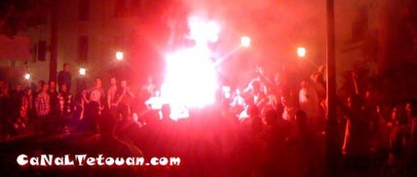 شوارع تطوان تعيش فرحة عارمة بعد الفوز التاريخي على الأهلي المصري