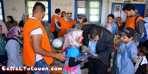 """متطوعون من أجل تطوان يصنعون الحدث في دوار """"حزومرييش"""" ! (تقرير مصور)"""