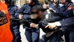 رجال الأمن يتمكنون من ايقاف مشتبه به كان يحمل سلاحا ويترصد مرور الموكب الملكي بتطوان