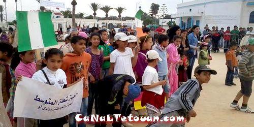استفادت أزيد من 70 طفل من المخيم الحضري الذي نظم بدار الشباب بوادي لو