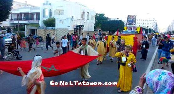 كرنفال تطوان المدرسي في نسخته الثالثة يجوب شوارع الحمامة البيضاء